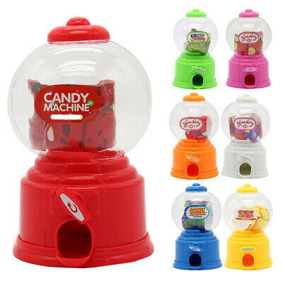 Mini sweet kids candy machine bubble gumball dispenser baby gift toys NIUS