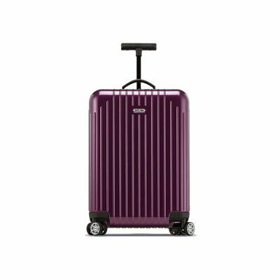 """Rimowa Salsa Air 22"""" Ultralight Cabin Multiwheel Spinner Carry-On Luggage Violet"""