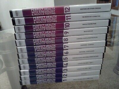 Perfect Health with Kinesiology & Muscle Testing DVD Training Series Set of 12