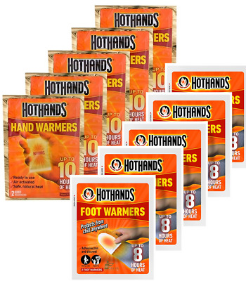 Hot Hand Warmer Hothands Hand Feet Foot Toe Insole Heat Warming Raynauds Pack