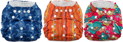 12 -Pack Coquí Baby Hero 2.0 Pocket Diaper with Performance Bamboo Insert