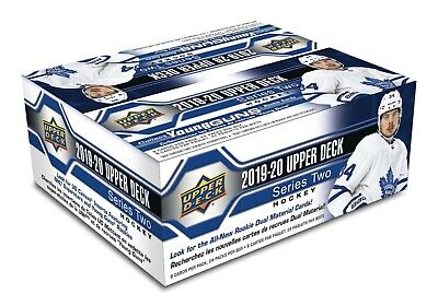 2019 2020 Upper Deck SERIES 2 Hockey NHL Sealed RETAIL 1 BOX + FREE NHL EARBUDS