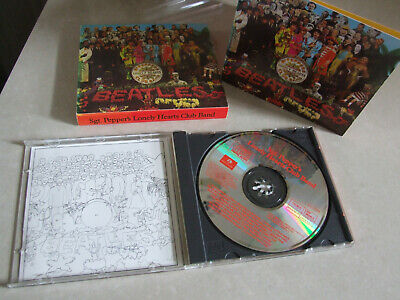 The Beatles - Sgt. Pepper's Lonely Hearts Club Band Excellent Music CD