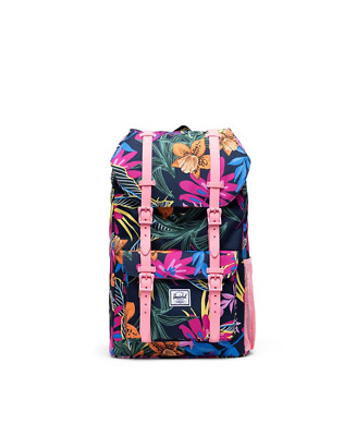 Herschel Zaino  Little America Youth Jungle Floral Peacoat Peony