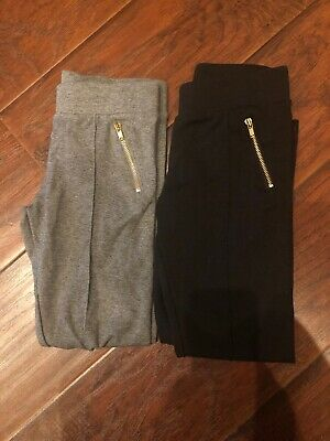 Cat And Jack Girls Leggings Pants (Lot Of 2) Size 6/6X