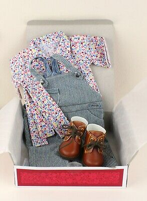 American Girl Doll KIt's Gardening Outfit Shoes Historical Retired