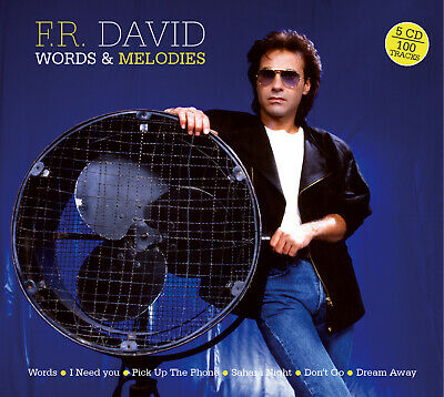 F.r. David - Words & Melodies - Best Of & Rarities - 5 Cd New 2020