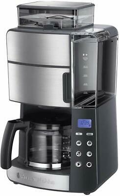 Russell Hobbs 25610-56 Grind and Brew Cafetera de Filtro Semiautomático Molinill