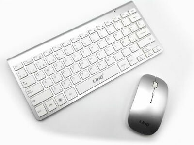 Teclado inalambrico y raton LinQ CS3000 Wireless keyboard and mouse 2Ghz 10M