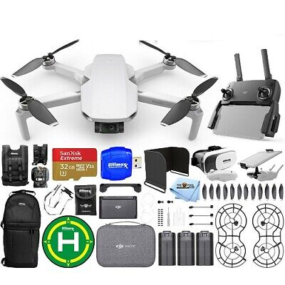 DJI Mavic Mini Fly More Combo with 3 Batteries 32GB SD Drone Vest and More