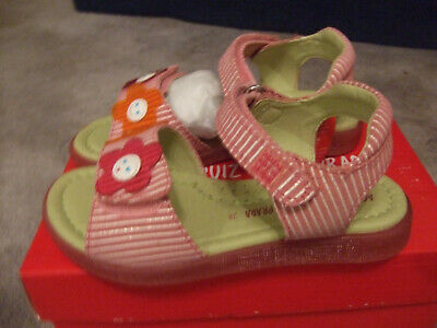 Girls, Agatha Ruiz De La Prada Shoes, Agatha Flower Sandals, UK Size 10 (EU 28)