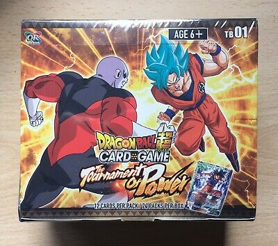 Dragon Ball Super Card Game DBSCG Tournament of Power Booster Pack