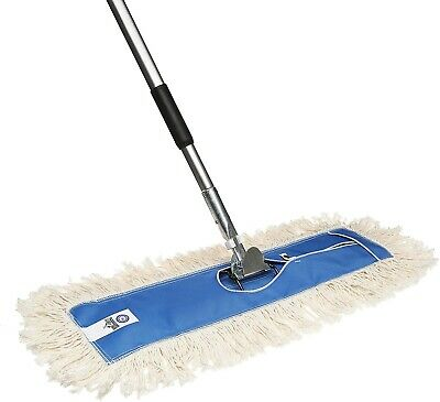 """36"""" Industrial Strength Washable Cotton Dust Mop Refill, Thick Tufted Replacemen"""