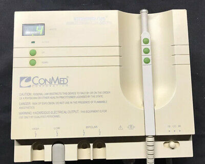 ConMed Hyfrecator Plus 7-797  with Hand Control Pencil