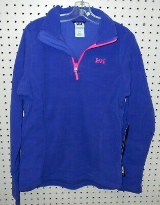 Helly Hansen Women/'s Daybreaker 1//2 Zip Fleece 50845//183 Persian Red NEW