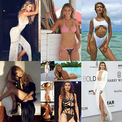 Gigi Hadid - Pack of 5 Glossy Photo Prints - 15 pictures to choose from
