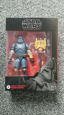 Star Wars The Black Series Mandalorian Heavy Infantry NEW SEALED MISB EXCELLENT