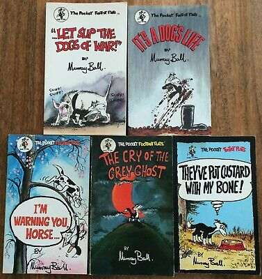 The Pocket Footrot Flats x 5 Books by Murray Ball First Editions Orin