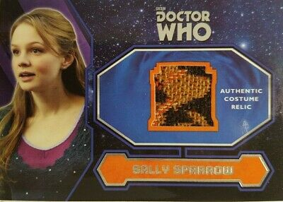 DR WHO EXTRATERRESTRIAL ENCOUNTERS Costume Relic Card SALLY SPARROW