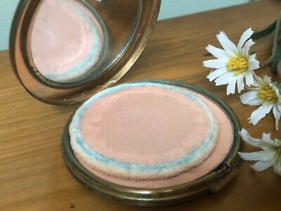 Vintage Ladies Powder Beauty Compact