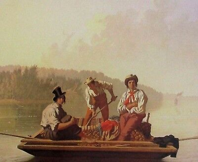 """18/""""x24/"""" Canvas Art Poster 1852 George Caleb Bingham The County Election"""