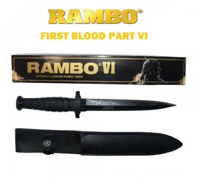 RAMBO 6 FIRST BLOOD PART VI SYLVESTER STALLONE Signature Knife