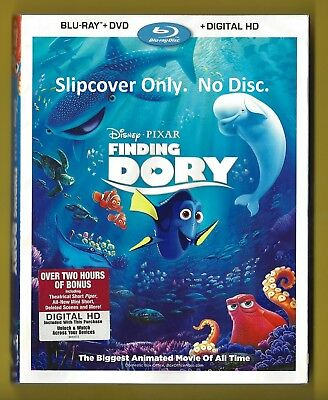 Disney Finding Dory SLIPCOVER ONLY fits blu-ray case