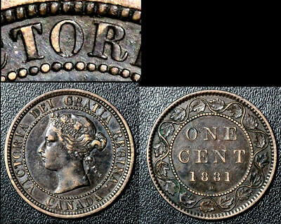BLACK FRIDAY SALE: Large Cent - 1881H Horseshoe O - AU (bfg054)