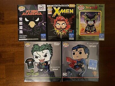 New Funko Pop and Tees (Joker, Superman, Tokoyami, Perfect Cell, & Dark Phoenix)