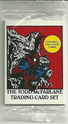 1989 Comic Images Todd McFarlane trading card set sealed pack with header card