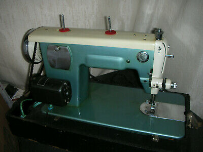 Vintage Morse Morse 300 B-L Deluxe Sewing Machine with Case