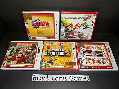 5 NEW Sealed 3DS Games Bundle Mario Kart 7 Bros 2 Zelda NES Remix Nintendo Lot