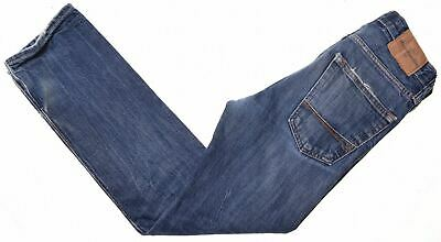 ABERCROMBIE & FITCH Boys Jeans 11-12 Years W26 L28 Blue Cotton Straight  CG12