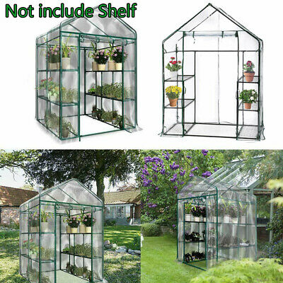 Greenhouse Bag Garden Outdoor Plant Cover Clear PVC Plastic Growbag Box 4 5 Tier