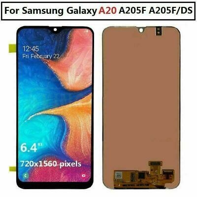 US For Samsung Galaxy A20 2019 A205 Display LCD Screen Touch Screen Digitizer ne