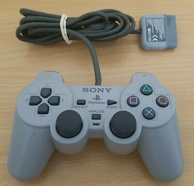 PS1 Control Pad Official Dualshock Controller Sony Playstation 1 SCPH-1200 WORKS