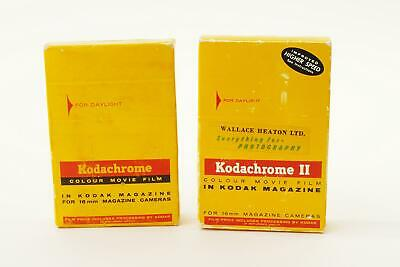 Kodachrome and Kodachrome II 16mm movie film magazines - BOXED