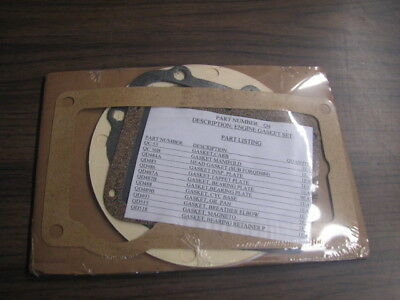 Wisconsin Engine Gasket Set Q4 for AD and AE     READ AD!