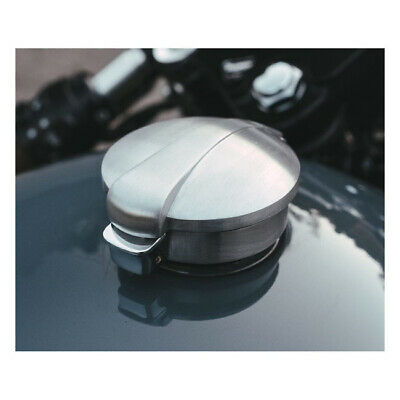 Harley Dyna Softail Sportster Custom brushed Motone, Monza gas cap 83-19