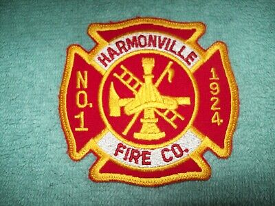 HARMONVILLE FIRE COMPANY Plymouth Meeting PENNSYLVANIA PA FIRE PATCH