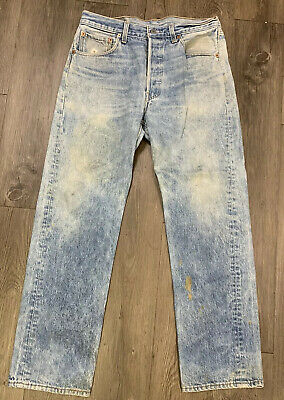 VTG Levis 501xx Button Fly Jeans Size 30 X 31 Made USA