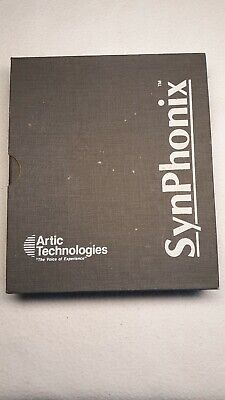 VINTAGE SYNPHONIC SPEECH OPERATING SYSTEM Users manual and Software.