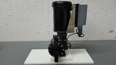 Pulsafeeder Mechanical Diaphragm Chemical Metering Pump Blackline MD1CPPPN2C-XXX