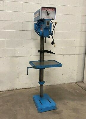 Powermatic 1150A Heavy Duty Single Spindle Floor Type Drill Press - LMC #48910