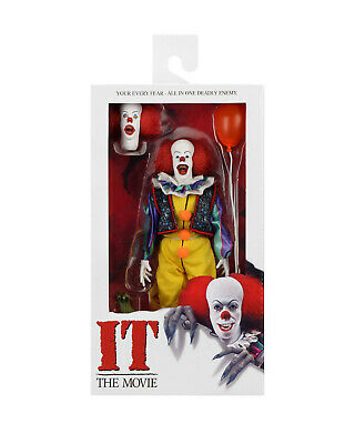 """7 /""""NECA Stephen Kings IT Pennywise Clown 1990 Ultimate Action Abbildung 1:12"""