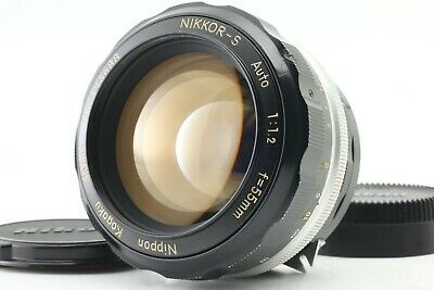 [EXC+++++] Nikon Auto NIKKOR-S 55mm f/1.2 Non Ai MF Standard Lens from Japan