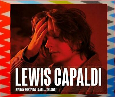 Lewis Capaldi New DELUXE Sealed CD 2019 Fast Freepost Divinely Uninspired UK#1