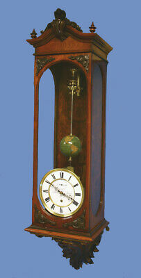 Rare German Long-Running Conical Wall Regulator Clock