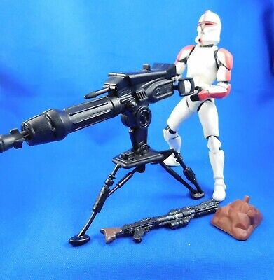 Star Wars 2002 Saga Attack of the clones TCW Clone Trooper Action Figure Loose #02-17