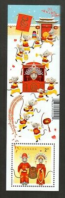 Canada's Lunar New Year, Year Of The Rat  2020  Mnh